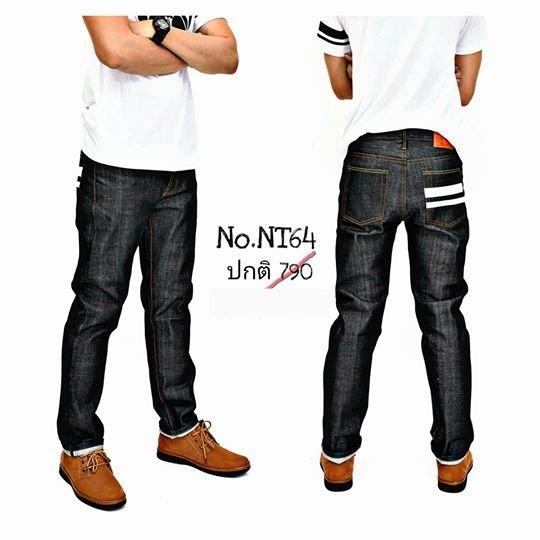 กางเกงขากระบอก NT64