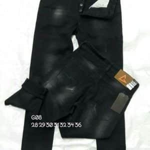 กางเกงยีนส์ชายทรงกระบอกเล็ก-G08