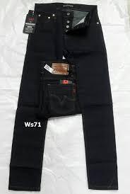 กางเกงยีนส์ชายทรงกระบอกเล็ก-WS71