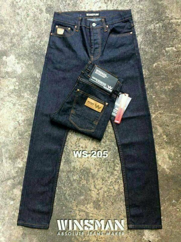 กางเกงยีนส์ชายทรงกระบอกเล็ก-ws205