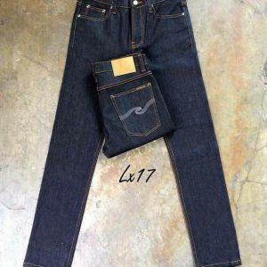 กางเกงยีนส์ชายทรงขาเดฟ LX17