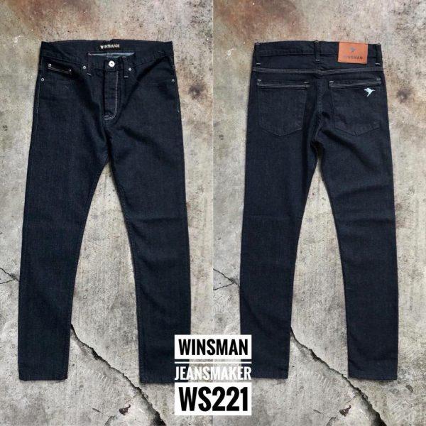 กางเกงยีนส์ชายทรงกระบอกเล็ก WS221